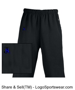 Youth Performance Open Bottom Pant Design Zoom